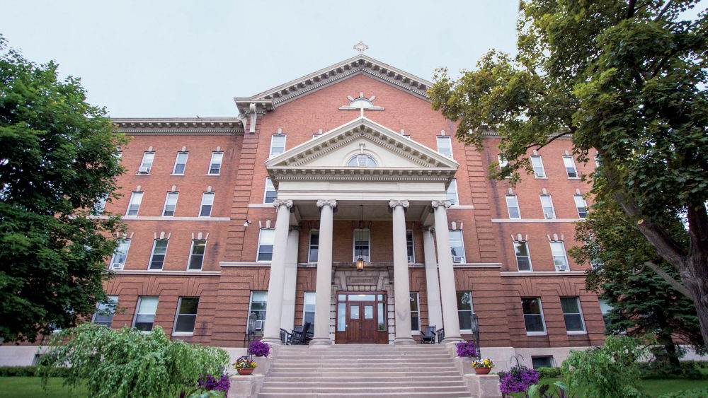 derham was the first building on campus, with construction completed in 1905. Currently, it serves as the  administrative building.