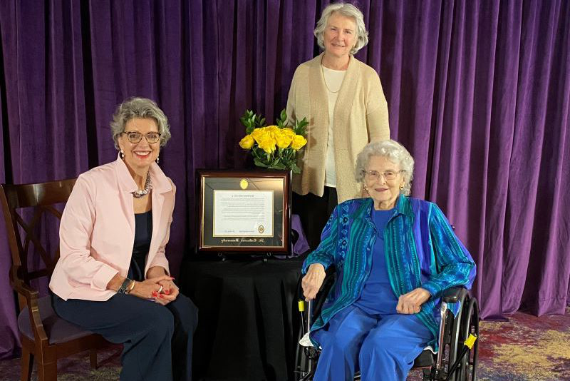 Honorees from the 2020 Opening Convocation